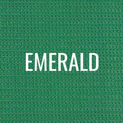 """emerald"" shade fabric color swatch"