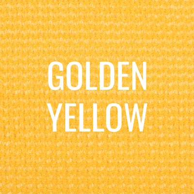 """golden yellow"" shade fabric color swatch"