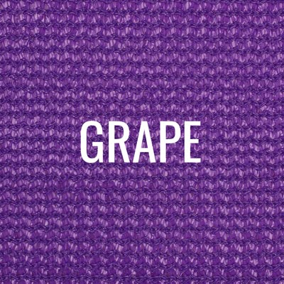 """grape"" shade fabric color swatch"