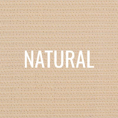 """natural"" shade fabric color swatch"