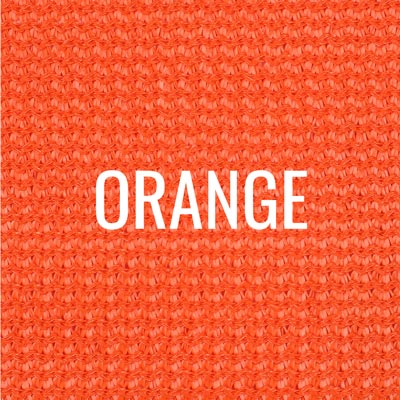 """orange"" shade fabric color swatch"