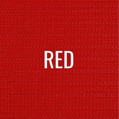 """red"" shade fabric color swatch"