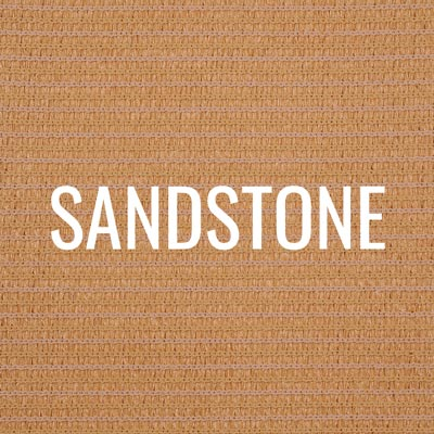 """sandstone"" shade fabric color swatch"