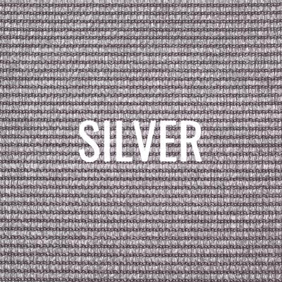 """silver"" shade fabric color swatch"