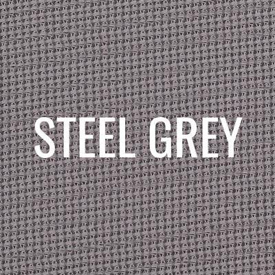 """steel grey"" shade fabric color swatch"
