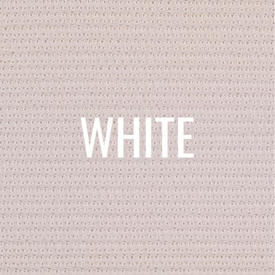 """white"" shade fabric color swatch"