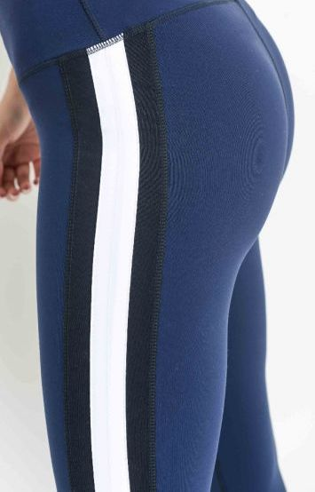Express Color-Block Leggings