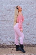 Passion For Pink Joggers