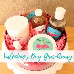 Natural Skincare Queen Valentine's Day Give-Away 2020