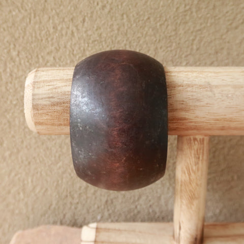 Earthy Ethnic Wood Bangle