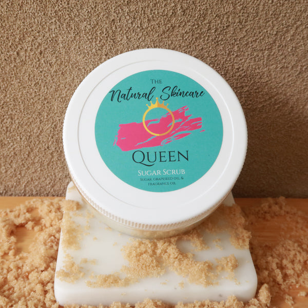 Natural Skincare Queen Sugar Scrub