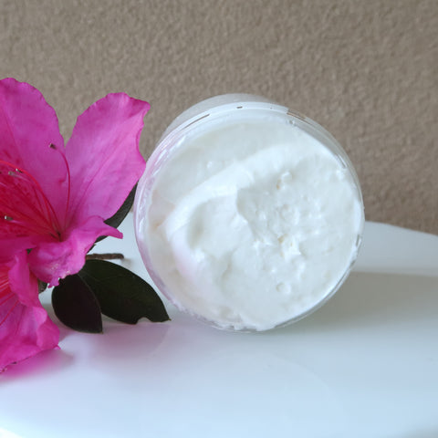 natural skincare body butter moisturizer