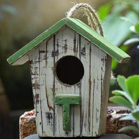 Rustic Distressed Birdhouse
