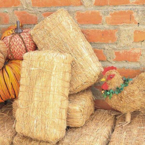 hay bales fall decor