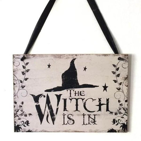 witch porch sign