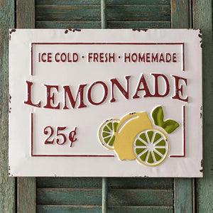 Fresh Lemonade Sign