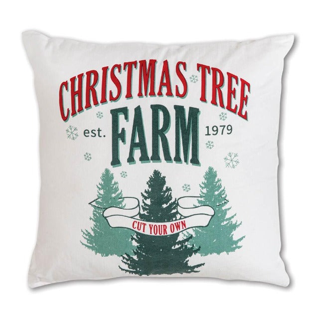 Tree Farm Pillow Cover