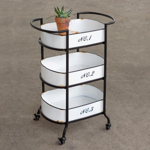 Storage Tiered Cart