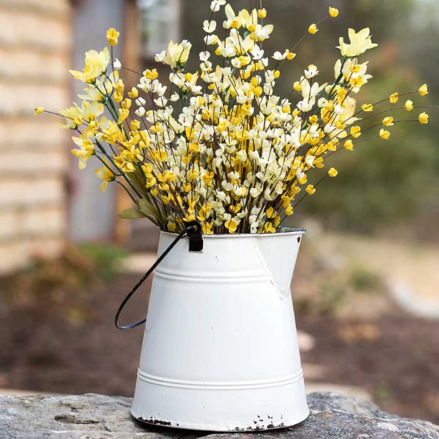 Farmhouse Flower Planter Pot Pitcher