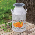 Pumpkin Milk Can