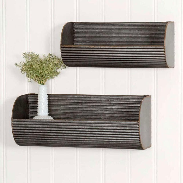 Long Corrugated Shelves