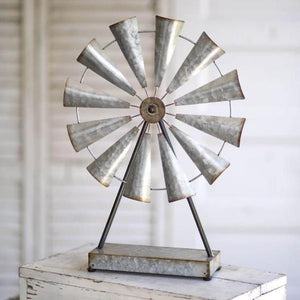 Large Table Top Windmill Stand