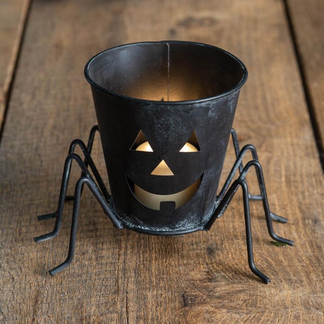 Spider Candle Bucket