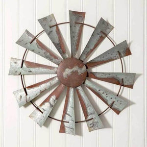 Rustic Windmill Wall Decor
