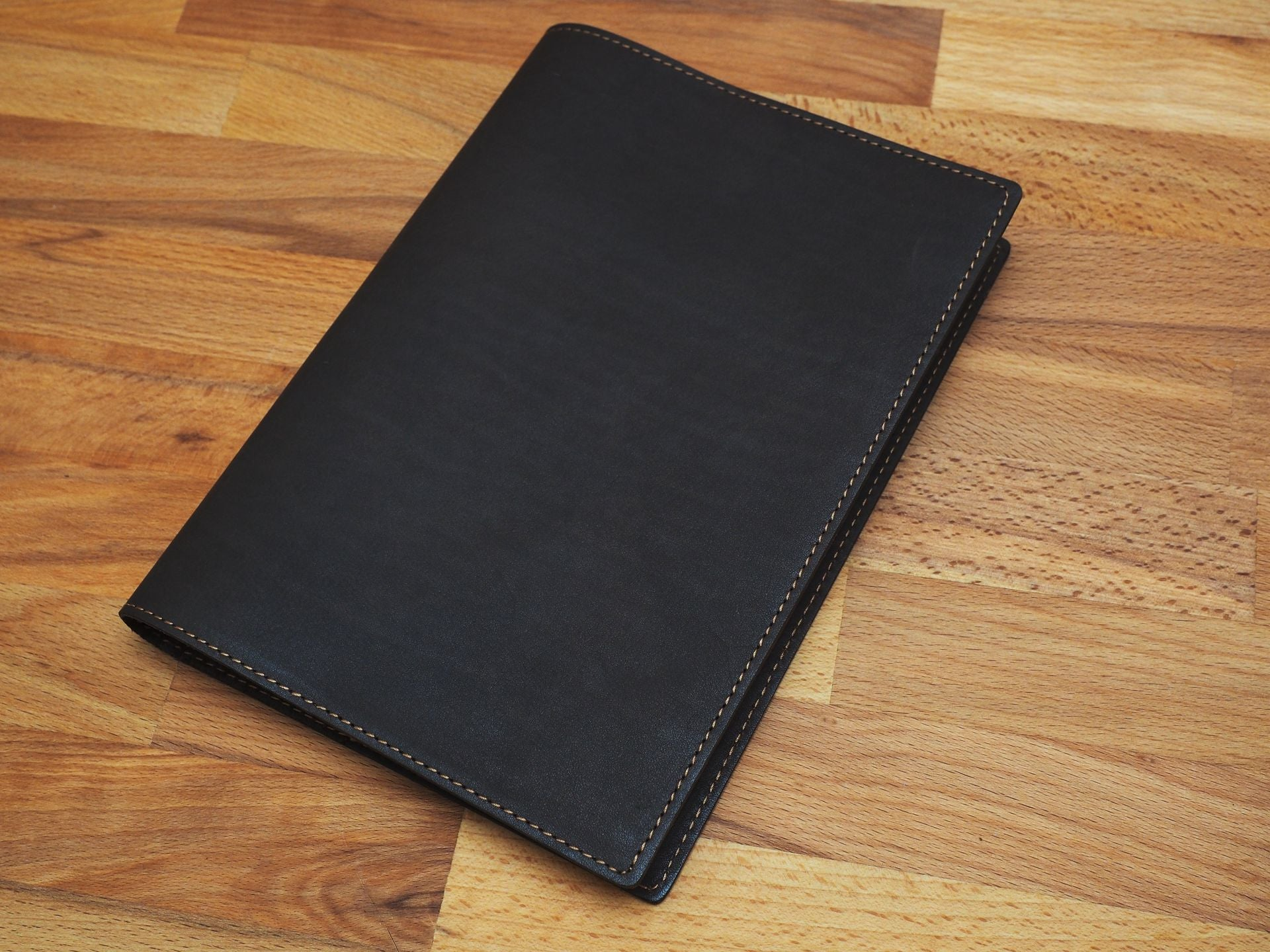 A5 Leather Cover / Dark Brown