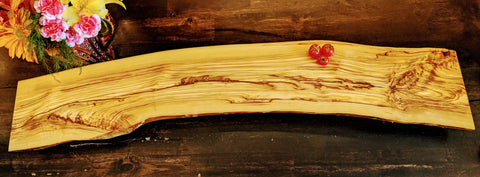 Long Olive Wood Board