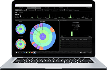 Eye P.A. Visual WiFi Packet Analyzer