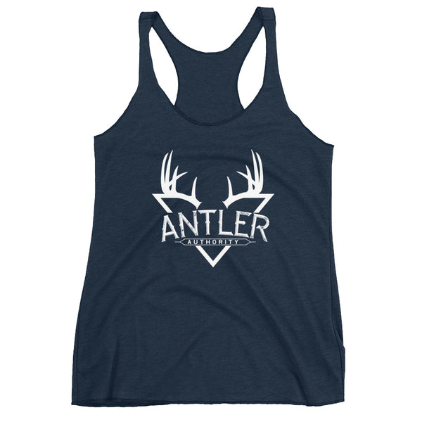 Womens Antler Authority Racerback Tank