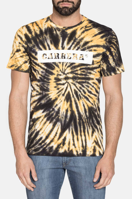 CARRERA YELLOW GRAPHIC TEE