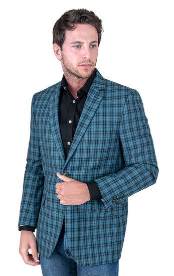 BRANDON GREEN MODERN FIT BLAZER