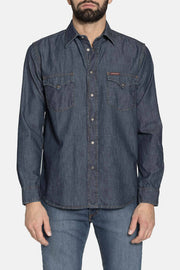 DREX MEDIUM BLUE DENIM SHIRT