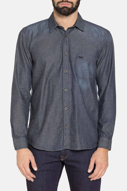 LAUREN DARK BLUE DENIM SHIRT