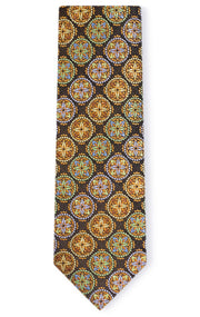 JAMES GOLD GEO TIE
