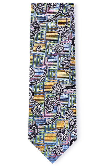 JACOB MULTI PAISLEY TIE