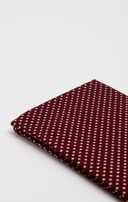 BURG POLKA POCKET SQUARE