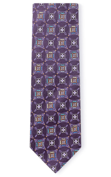 GEORGE PURPLE GEO TIE