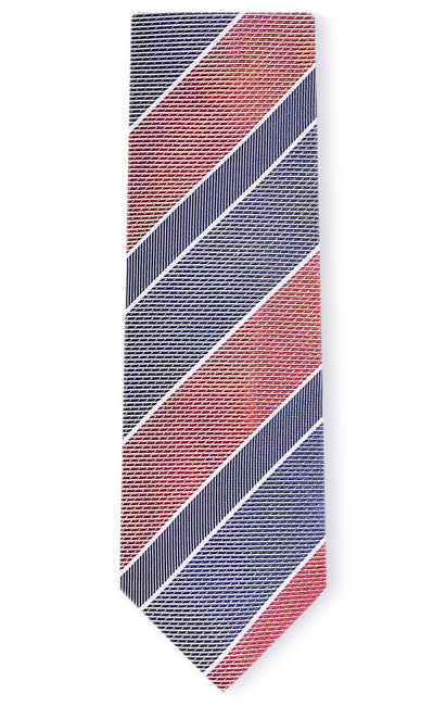 CARTER RED STRIPE TIE