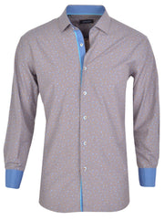 SPAZIO BROWN SPORT SHIRT