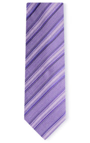 JACK PURPLE STRIPE TIE