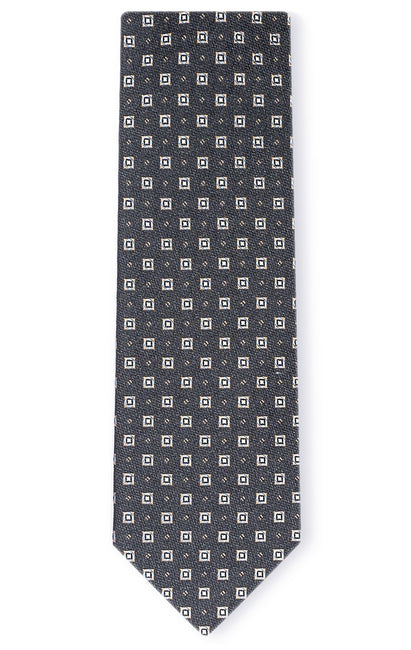 ASHLEY BLACK DOT TIE