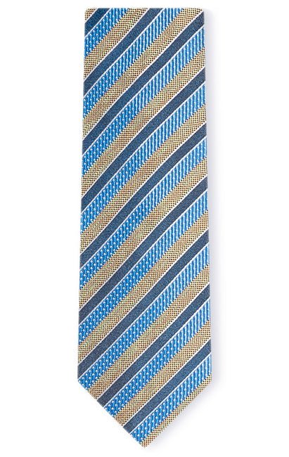 HARRY BLUE STRIPE TIE