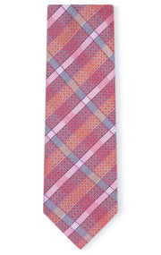 JACOB RED STRIPE TIE