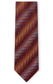 TODRICK RED STRIPE TIE