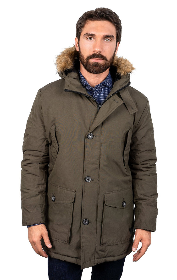 KIMBLEY ARMY GREEN PARKA