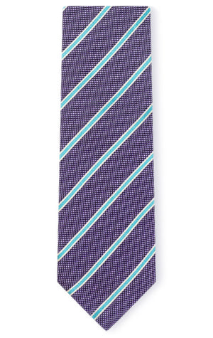 DARIUS PURPLE STRIPE TIE