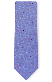 WILLIAM PURPLE DOT TIE